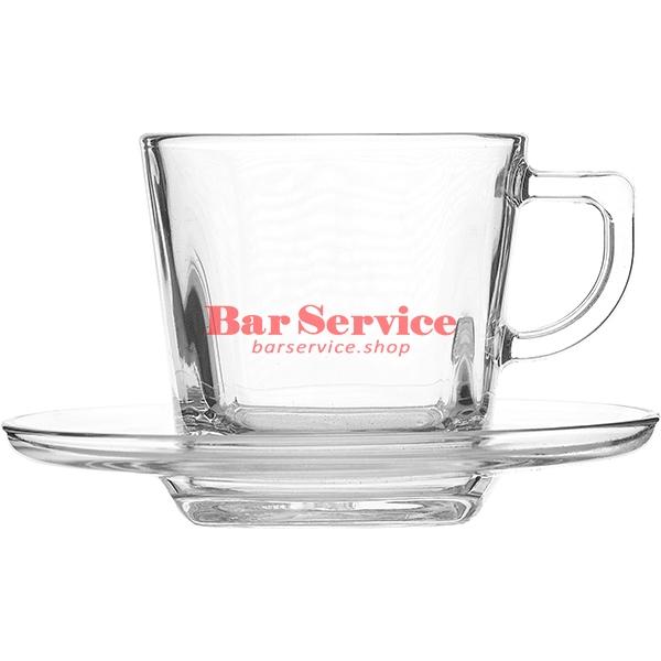 Пара чайная; стекло; 215мл; прозр в Ижевске