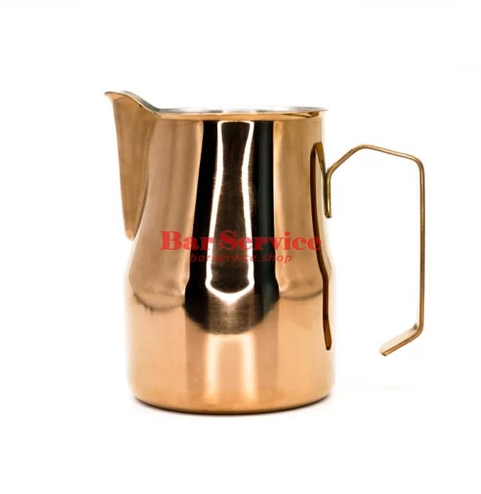 Питчер для молока 350мл, нерж, сталь, золотой P.L.Barbossa в Ижевске