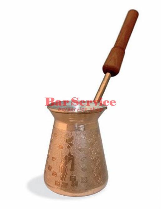 Кофеварка медная Арабика 0,42 съемная ручка в Ижевске