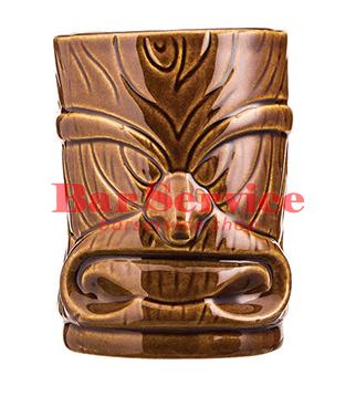 """Стакан д/коктейлей """"Тики"""";керамика 450мл, коричневый. в Ижевске"""