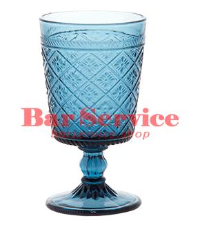 """Бокал д/вина """"Глория""""; стекло; 240мл; синий в Ижевске"""
