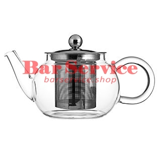 Чайник «Проотель»;  термост.стекло;  0,6л;  D=78мм в Ижевске