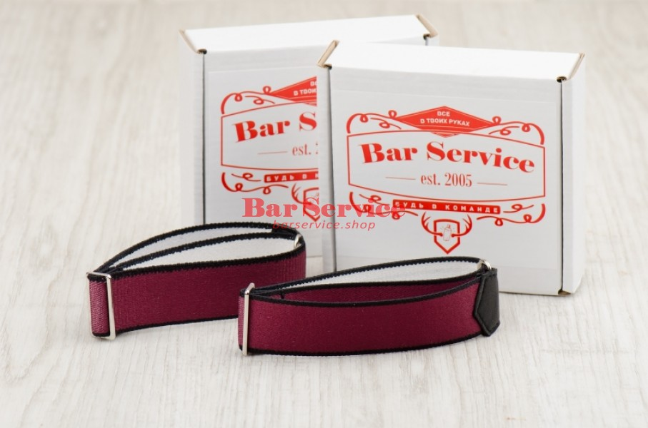 Армбенды, цвет бордо. Bar Service в Ижевске