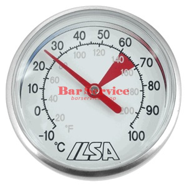 Термометр д/молока; сталь; D=45,L=138/125,B=55мм; металлич. в Ижевске