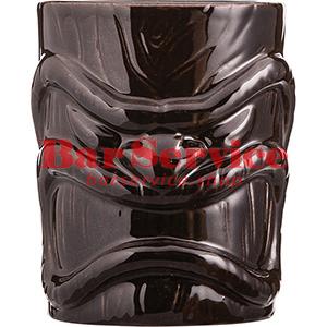 Стакан д/коктейлей «Тики», керамика; 450мл; коричнев. в Ижевске