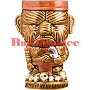 Стакан д/коктейлей «Тики» керамика; 450мл; коричнев. (01170825) в Ижевске