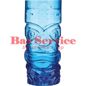 Стакан д/коктейлей, стекло «Тики» синий в Ижевске
