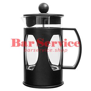 Чайник-кофейник Черный Объем: 600 мл. (френч пресс) в Ижевске