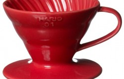 Hario VDC-02R. Воронка керамическая красная. 1-4 чашки в Ижевске right