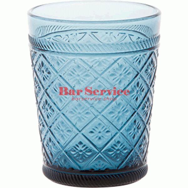 Стакан Глория; стекло; 350мл; синий в Ижевске