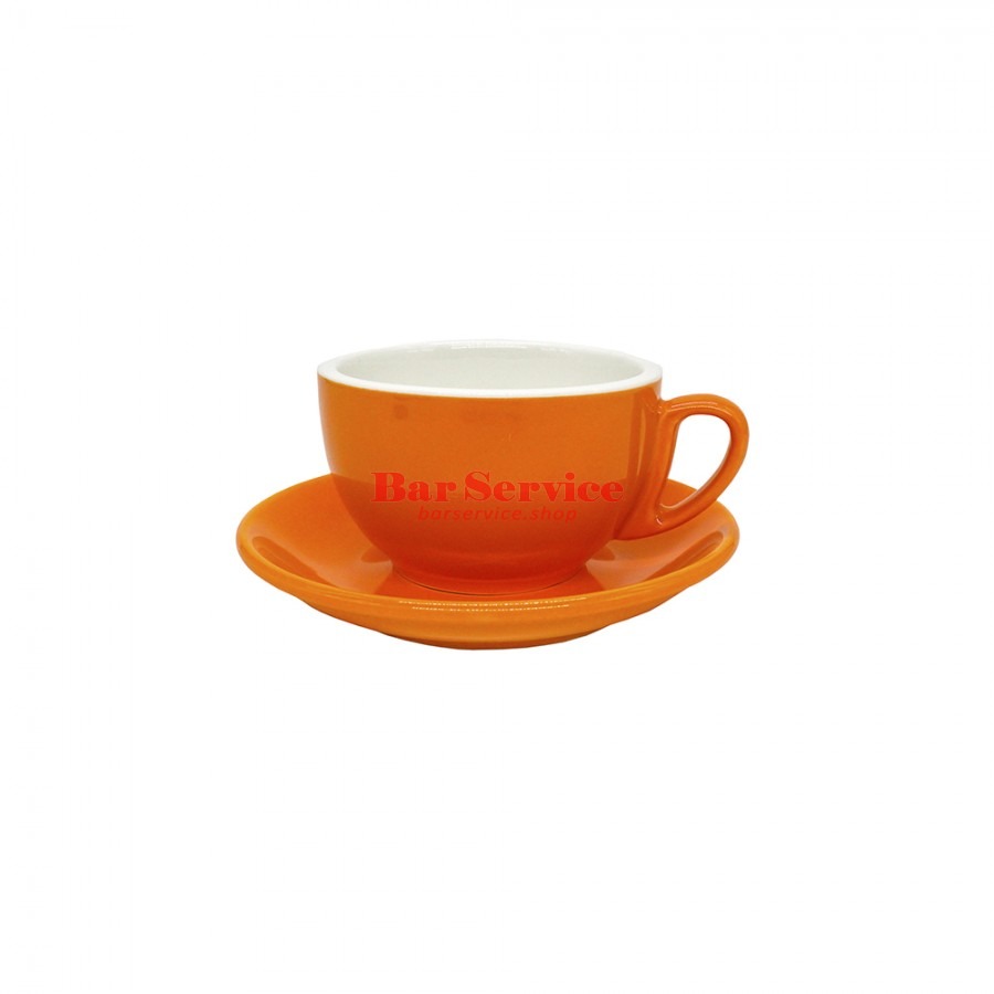 Чайная пара 270 мл; оранжевый цвет; Barista P.L. в Ижевске